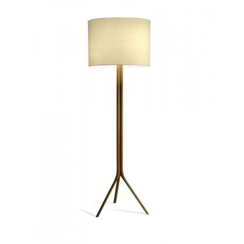 Enlarge PARIS CYLINDRICAL SHADE TALL FLOOR LAMP