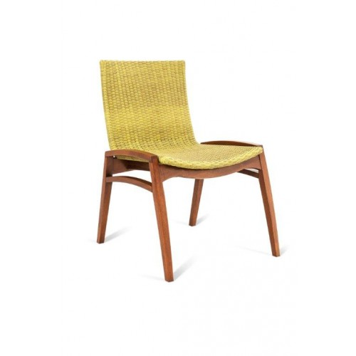 NORONHA STACKABLE SIDE DINING CHAIR