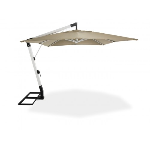VARAZZE - Cantilever Umbrella - White Finish Pole