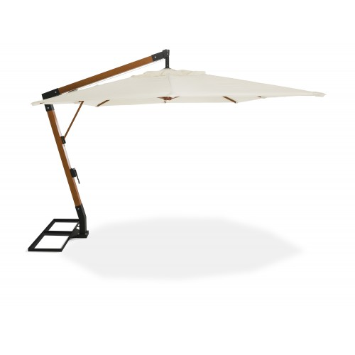 VARAZZE - Cantilever Umbrella - Wood Finish Pole