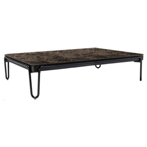SOUL RECTANGULAR COFFEE TABLE WITH A MARBLE TOP