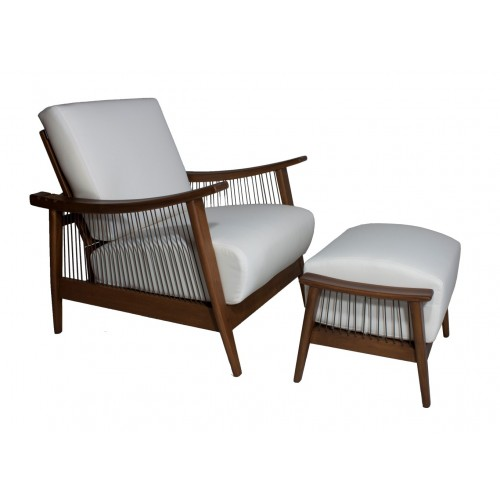 SANTA BARBARA OUTDOOR - LOUNGE CHAIR AND OTTOMAN