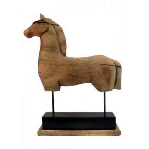 TROY - Mangowood Horse Sculpture