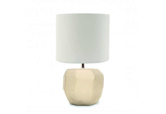 CUBISTIC OFF-WHITE TABLE LAMP