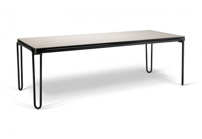 SOUL 94.5 RECTANGULAR DINING TABLE WITH HI-PRESSURE LAMINATED TOP
