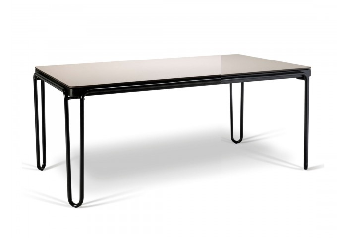 "SOUL 67"" RECTANGULAR DINING TABLE WITH HI-PRESSURE LAMINATED TOP"