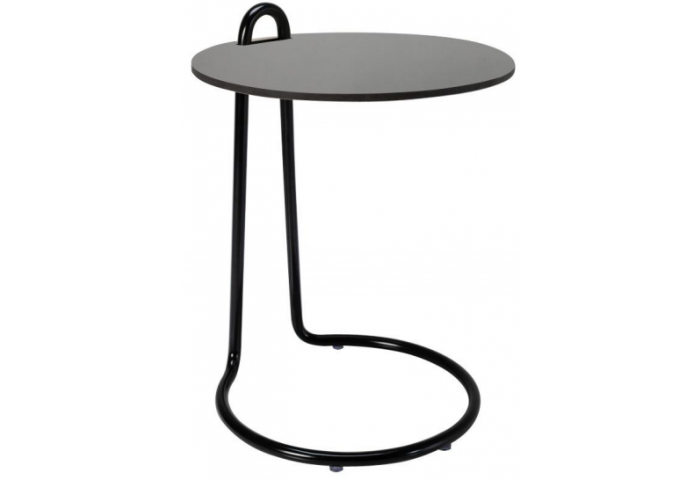 SOUL END TABLE WITH A COLOR GLASS TOP