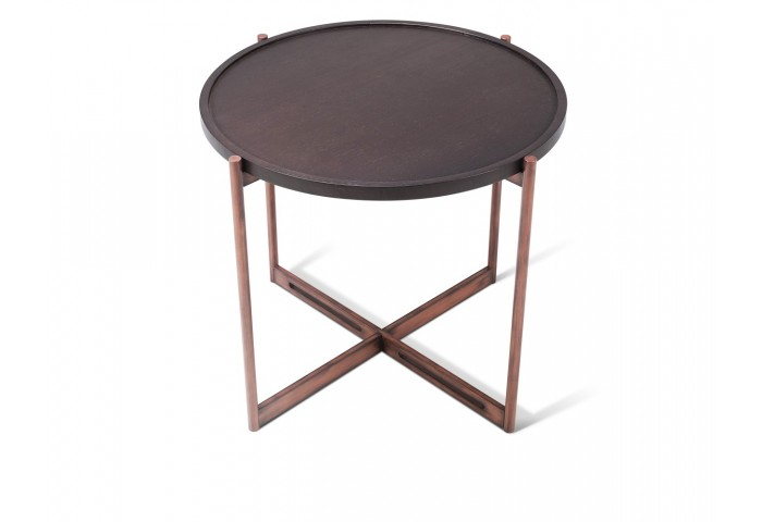 SOIE - Large Round End Table
