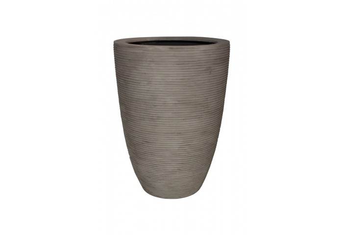 "PARMA 27.5"" WASHED BEIGE PLANTER"