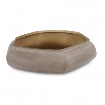 KARAKOL FROSTED GRAY GLASS BOWL