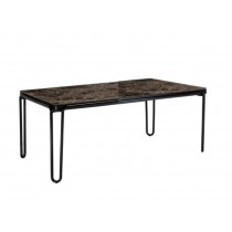 SOUL 67in RECTANGULAR DINING TABLE WITH A MARBLE TOP