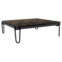 SOUL SQUARE COFFEE TABLE WITH A MARBLE TOP