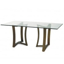 PEDAVENA - Y-SHAPED BASE RECTANGULAR DINING TABLE
