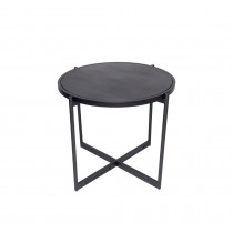 SOIE - Round End Table w/Slimstone Top