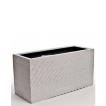 "TIVOLI 40"" WHITE RECTANGULAR PLANTER"