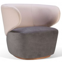 BLOOM SWIVEL ARMCHAIR
