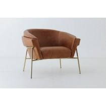 VIRTUS ALL LEATHER ACCENT CHAIR