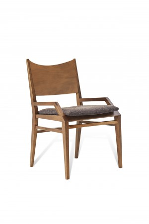 CANAVIAL ARM DINING CHAIR